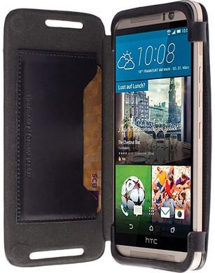 Krusell FlipCover Kiruna HTC One M9 Zwart