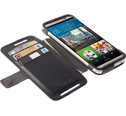 Krusell Wallet Malmo HTC One M9 Zwart