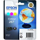 Epson Globe 267 Cartridge 3-Kleuren C13T26704010