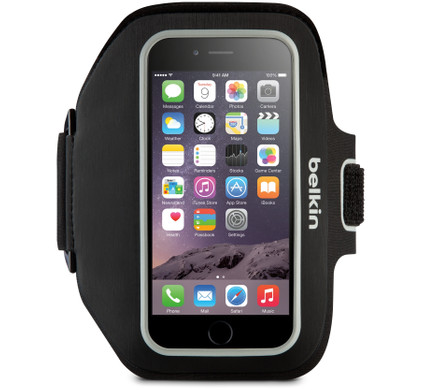 Belkin Slimfit Plus Armband Apple iPhone 6 Plus/6s Plus Zwart
