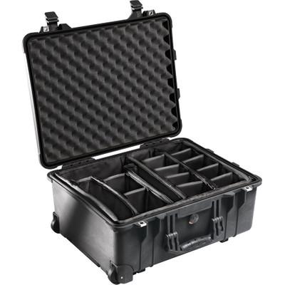 Peli 1564 Black Divider Koffer