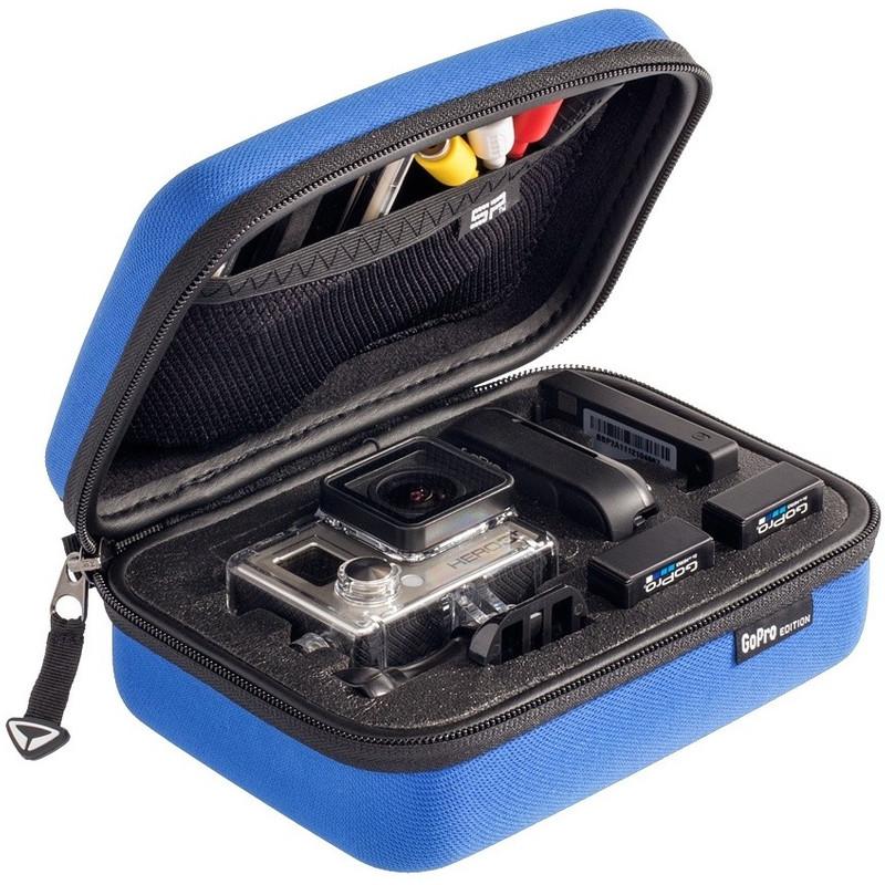 SP Gadgets POV Case GoPro XS blauw