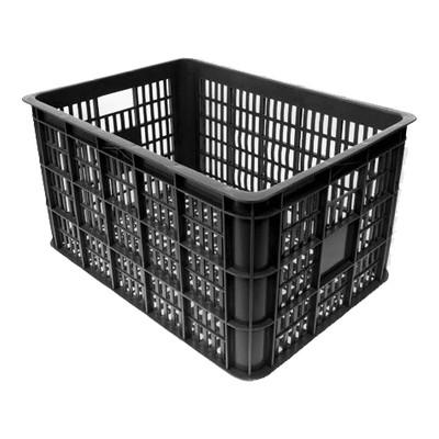 Image of Basil Fietskrat kunststof 50-liter zwart