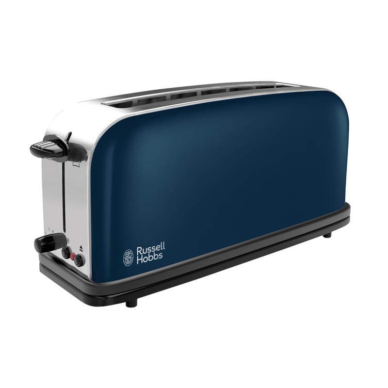 Russell Hobbs Colours Royal Blue Long Slot Broodrooster