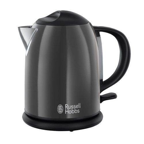 Russell Hobbs Colours Storm Grey Compact Waterkoker