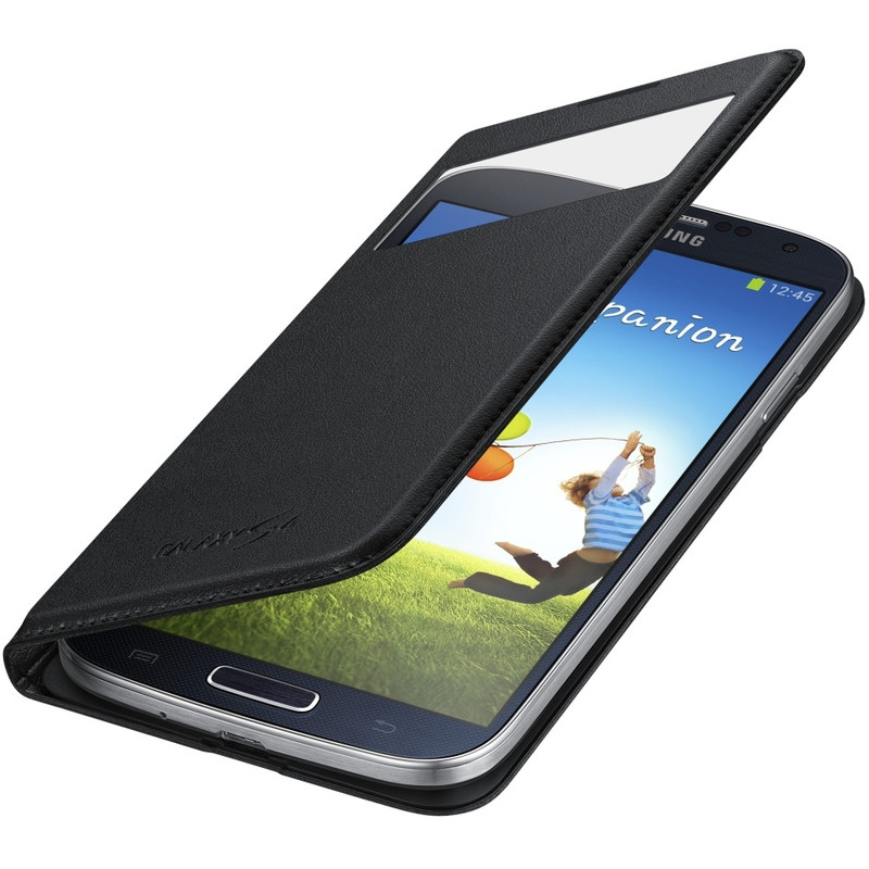 Samsung Galaxy S4 S View Cover Zwart