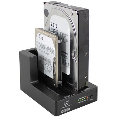 Image of EMINENT - USB 3.0 DUAL DOCKING STATION VOOR SATA 2.5 EN 3.5 - Ewent