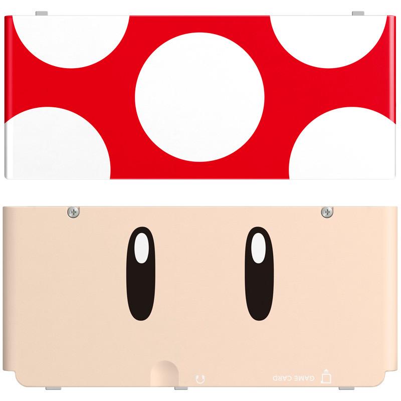 New Nintendo 3ds Cover Paddestoel Pop