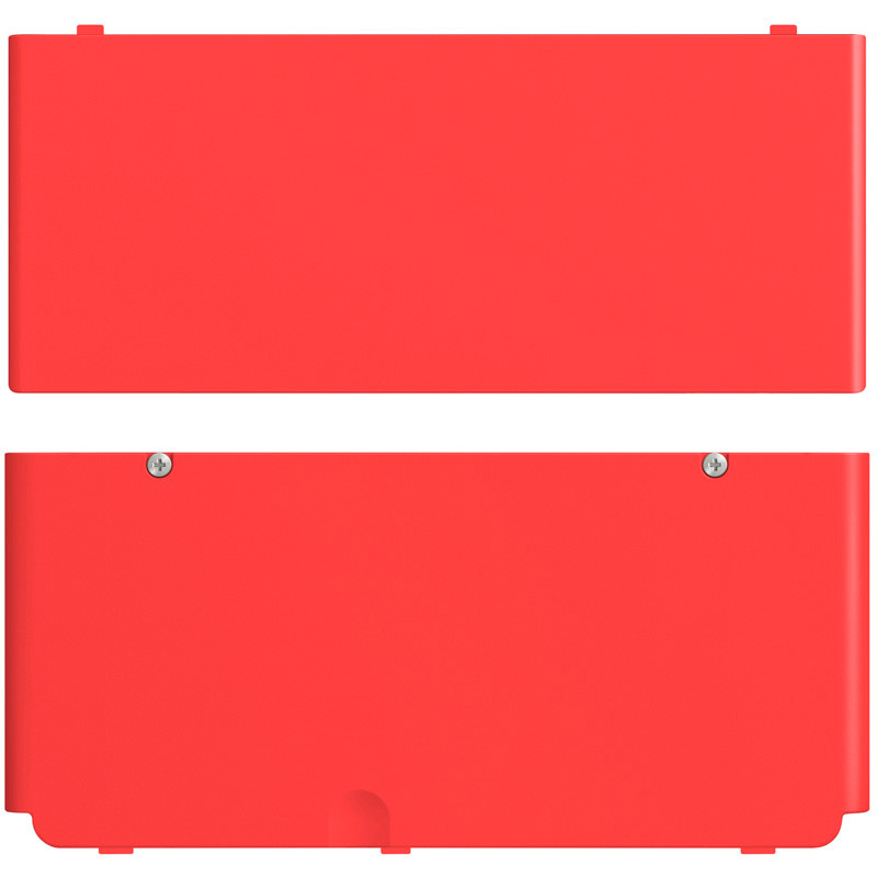 New Nintendo 3ds Cover Rood