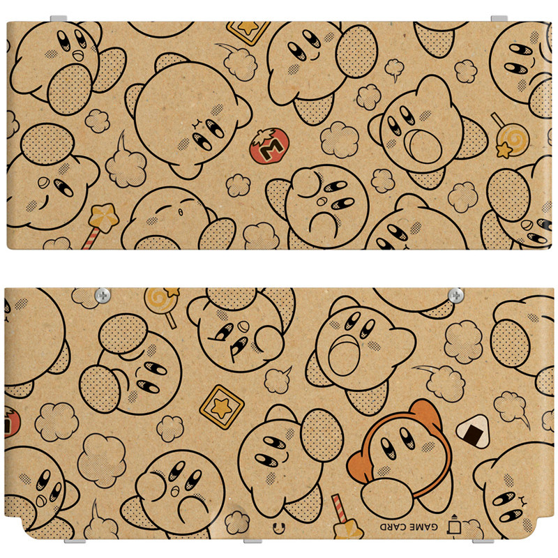 New Nintendo 3ds Cover Kirby Crowd