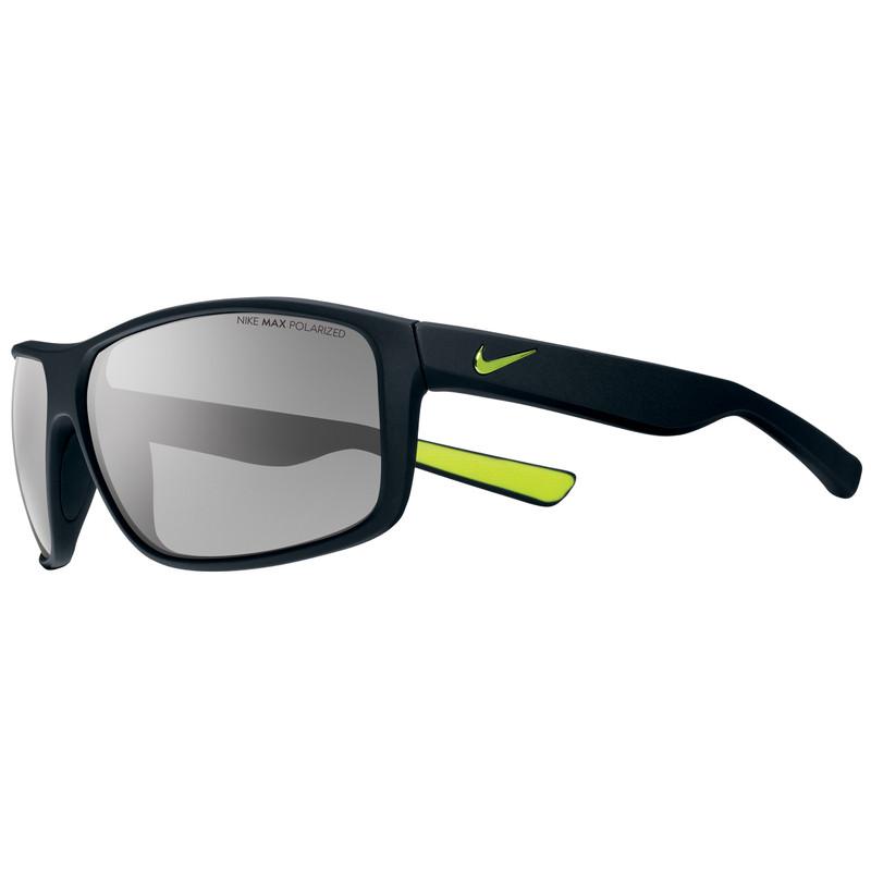 Nike Premier 8.0 P Matte Black Volt/grey Polarized Lens