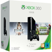 Microsoft Xbox 360 500 GB + Fable + Plants vs Zombies