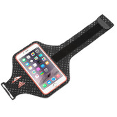 Adidas Armband Apple iPhone 6 Plus/6s Plus Zwart/Rood