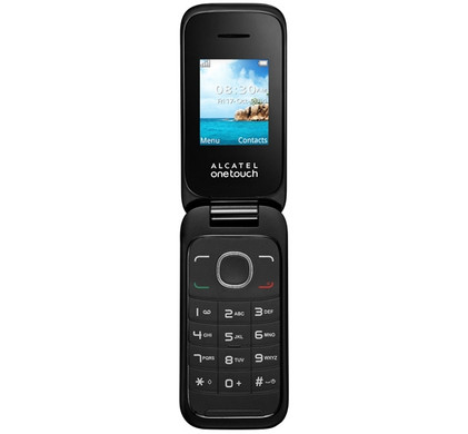 Alcatel One Touch 1035 Dual Sim Zwart