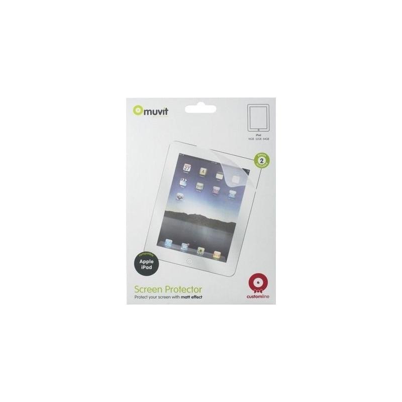 Muvit Screenprotector Matt Apple Ipad Air Duo Pack