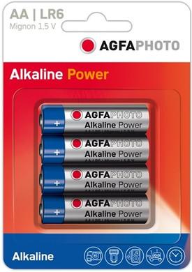 Agfa Photo 4x AA batterijen