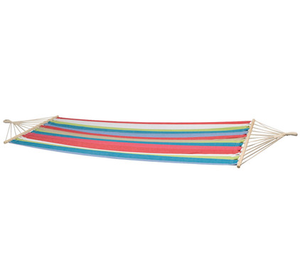 Bo Garden Hangmat Samba Rood/Blauw/Beige/Groen