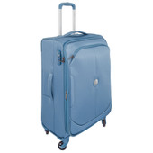 Delsey U-Lite Classic 4 Wheel Trolley Case 67 cm Blue