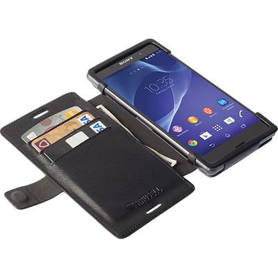 Krusell FlipWallet Sony Xperia M4 Aqua Zwart