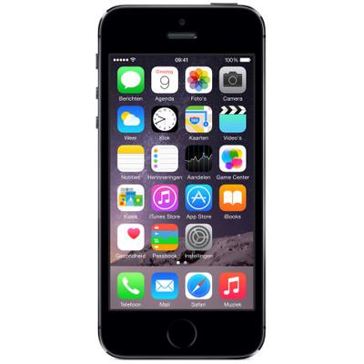 Refurbished Apple iPhone 5S 32GB Zwart (2 jaar garantie), Geen tot zeer lichte gebruikssporen Inclusief originele Apple accessoires 2 jaar garantieExtra gegevens:Merk: AppleModel: Refurbished  iPhone 5S 32GB Zwart (2 jaar garantie)Voorraad: 1Contractduur:  jaarToestelprijs/artikelprijs: 329.00Levertijd : Voor 23.59 uur besteld, morgen in huis. Zelfs op zondag.