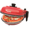 product in gebruik Optima Napoli Pizzaoven Rood