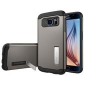Spigen Slim Armour Samsung Galaxy S6 Grijs