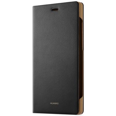 Huawei P8 Flipcover Zwart