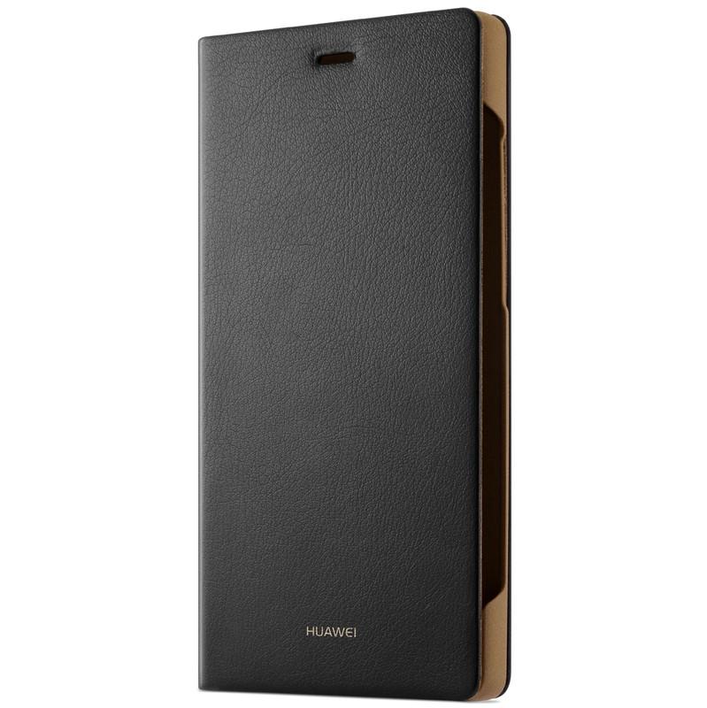 Huawei P8 Lite Flipcover Zwart