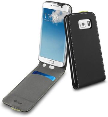 Muvit Slim Case Samsung Galaxy S6 edge Zwart