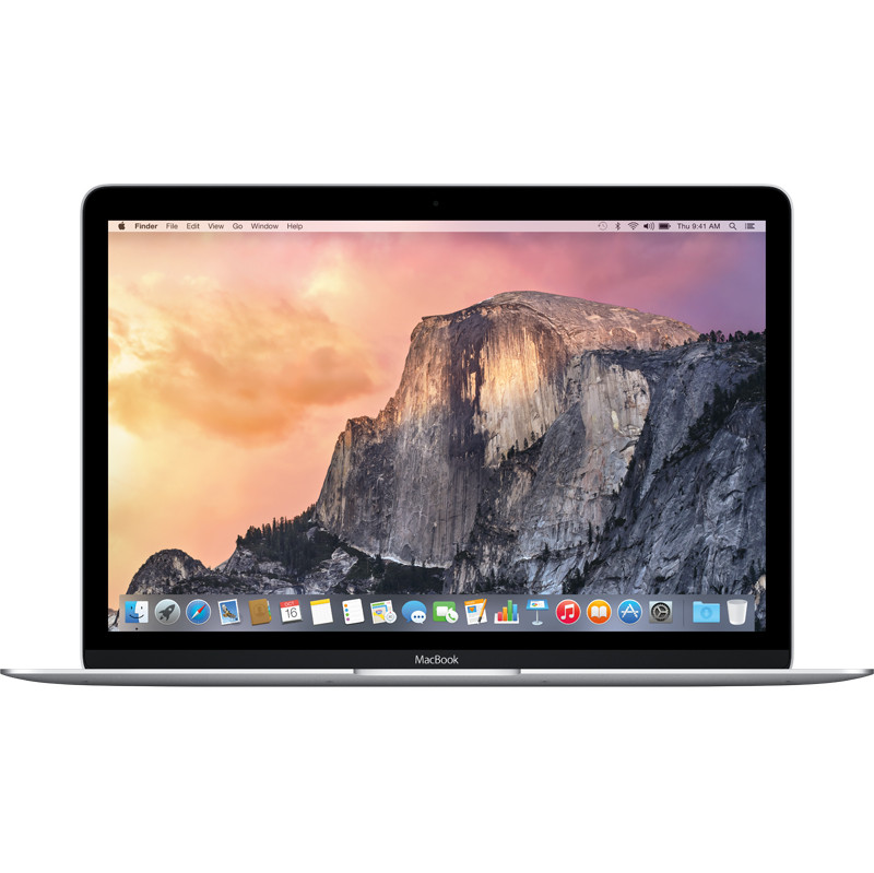 Apple Macbook 12 256 Gb Zilver
