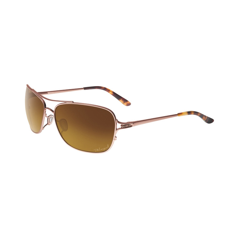 Oakley Conquest Satin Rose Gold/brown Gradient Polarized