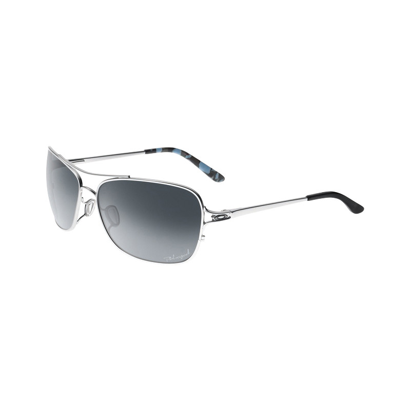 Oakley Conquest Polished Chrome/grey Gradient Polarized