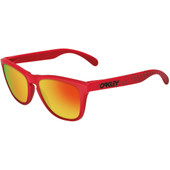 Oakley Frogskin Matte Red/Fire Iridium