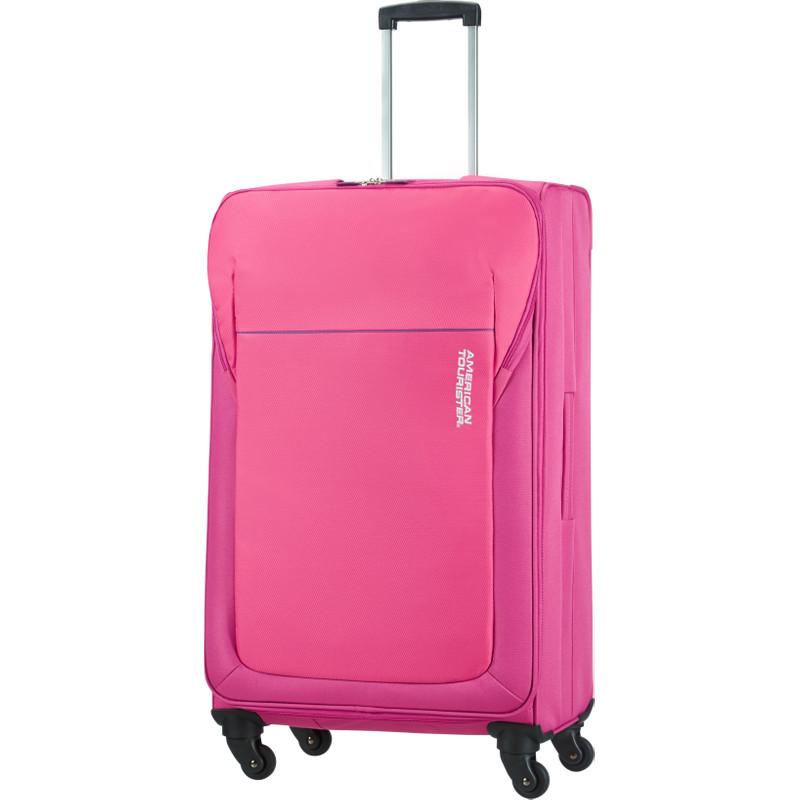 American Tourister San Francisco Spinner Hot Pink 4-wieltjes - L