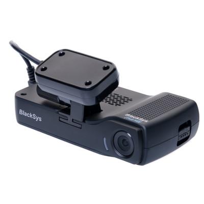 Image of BlackSys CH-100B Dashcam met GPS Kijkhoek horizontaal: 135 ° 12 V, 24 V Dualcamera, Accu, Microfoon