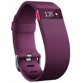 Fitbit Charge HR Plum - L