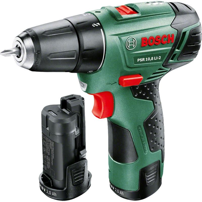 Bosch PSR 10,8 LI-2 + 2e accu