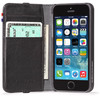 Leather Wallet iPhone 5/5S/SE Black - 1