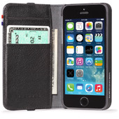 Decoded Leather Wallet Apple iPhone 5/5S/SE Black