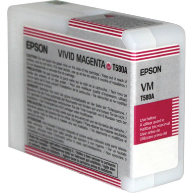 Epson T580A00 Vivid Magenta Ink Cartridge (helder rood) C13T580A00