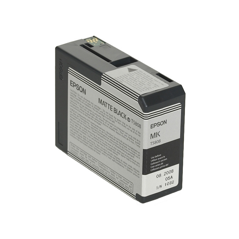 Epson T580800 Matte Black Ink Cartridge (mat Zwart) C13t580800
