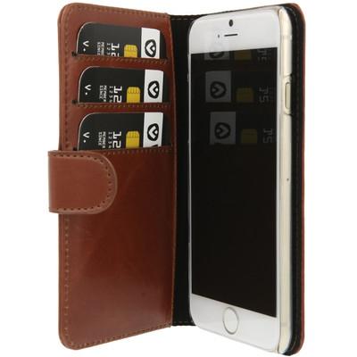 Valenta Valenta Booklet Lux Brwn iPhone 6 4.7IN (911219)