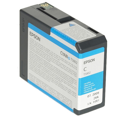 Epson T580200 Cyan Ink Cartridge (blauw) C13T580200