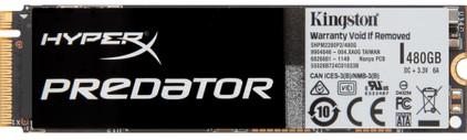 Kingston HyperX Predator SSD 480GB M.2