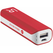 Urban Revolt Powerbank 2200 mAh Wit/Rood