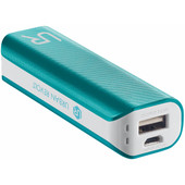 Urban Revolt Powerbank 2200 mAh Wit/Blauw
