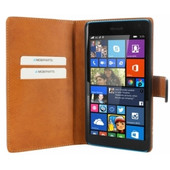 Mobiparts Premium Wallet Case Microsoft Lumia 640 Zwart