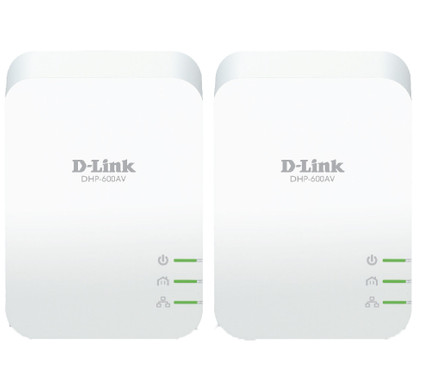 D-Link DHP-601AC Geen WiFi 1000 Mbps 2 adapters