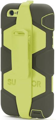 Griffin Survivor All Terrain Apple iPhone 6 Plus/6s Plus Zwart/Geel