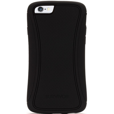 Griffin Survivor Slim voor de iPhone 6 - Zwart/ Zwart